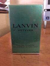 Lanvin Vetyver Cologne For Men 1.7oz EDT Spray New Sealed