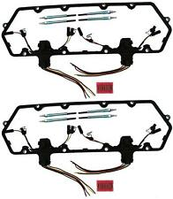 94-97 Powerstroke 7.3L Diesel Glow Plug Kit - Gaskets Harnesses 8 Plugs Pigtails