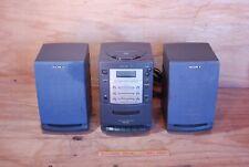 MICRO CHAINE SONY PMC-107L vendu en l'état pour pièces