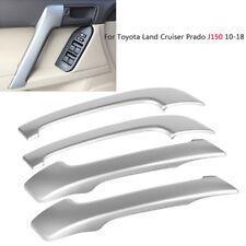 4pc Chrome Door Handle Panel Cover Trim For Toyota Land Cruiser Prado J150 10-18