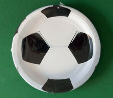 "Pack of 8 Football Soccer 9"" Round Plates - Birthday Party Sports Tableware"