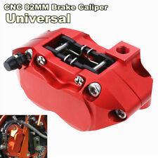 1x Motorcycle Brake Caliper Disc Cylinder Adapter 82mm Mounting 25mm*4Pcs Piston