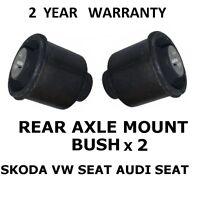VW AUDI SEAT SKODA Rear Suspension Axle Mount Bushes (1J0501514C & 6R0501541A)