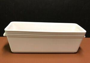 Revol Classique White Porcelain Terrine Galantine Pate Baking France