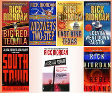 TRES NAVARRE Crime Thriller Series by RICK RIORDAN MM Paperback Series 1-7!