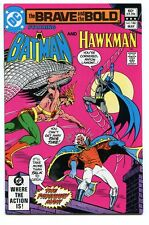 Brave and the Bold 186 Nm Batman Hawkman Dc comics Cbx18B *