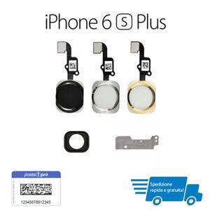 TASTO HOME Button COMPATIBILE PER Apple iPhone 6s plus Pulsante oro-nero-bianco