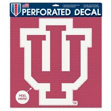 IU Indiana Hoosiers Car Window Decal Perforated Large