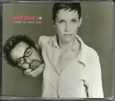 Annie Lennox EURYTHMICS I saved the World Today LIVE &UNRELEASE CD Single SEALED