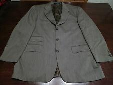 Mens Ralph Lauren 100% Wool Blazer Size 42 R Jacket Double Vented Sport Coat