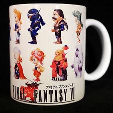 FINAL FANTASY 6 VI - Coffee MUG CUP - SNES - RPG