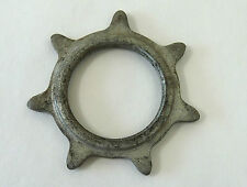 """Track Cog  7T Skip Tooth 3/16"""" Steel Vintage Pista Bicycle Fixed Gear NOS"""