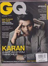 GQ Revista India Puede 2015 , Karan Jauhar