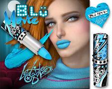 Creamy BLUE Lipstick :: ELECTRIC BLUE Lips :: Lex Gable Cosmetix
