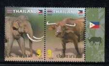 Thailand Elephant & Caribou Joint Issue With Philippines Mnh set