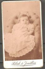 Turkey Constantinople Baby Cabinet photo Sebah & Joaillier 1890's