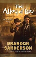 The Alloy of Law: A Mistborn Novel-ExLibrary