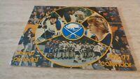 1976-77 Buffalo Sabres NHL Hockey Team-Issued Calendar - EX-MT