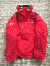 Berghaus Mera Peak Gore-Tex Red Men's  Mountain Jacket Coat Size LARGE