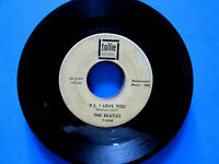 THE BEATLES P.S. I Love You ~ Love Me Do 1964 Tollie T-9008 45 rpm