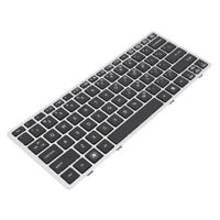 Laptop Keyboard US Layout Slim Replacement for HP Elitebook 2560 2570P