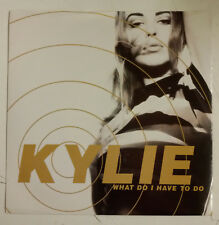"""Kylie Minogue What Do I Have To Do Single 7"""" UK 1990"""