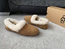 UGG Kendyl chestnut brown shearling fur slippers ,UK size 7.5,EUR 40,US  9