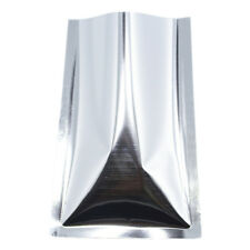 Open Top Heat Seal Silver Aluminum Foil  Mylar Food Storage Packing Vacuum Bags