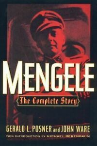 NEW Mengele By Gerald L. and Ware, John Posner Paperback Free Shipping