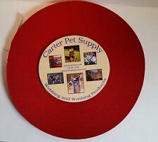Carter Pet Supply 1 Inch Red  Heavy Nylon Webbing, 50 Yards US MADE