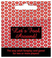 LETS FOOL AROUND - Adult Couples Foreplay Fun Card Game