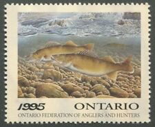 CANADA REVENUE WILDLIFE CONSERVATION STAMP OW3 MINT NH