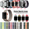 For Apple Watch Series 4 3 2 1 38/42/40/44/mm Nylon Sport Loop iWatch Band Strap