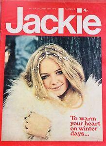 jackie magazine No.519 December 15 Th 1973 ,donny Osmond,and Jermaine Jackson ..