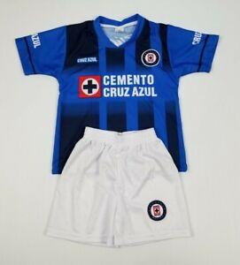 New Cruz Azul Kid's Home Jersey La Maquina soccer uniform