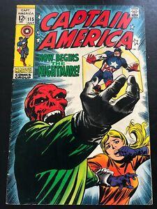 Captain America #115 VG+ (4.5)
