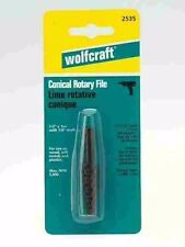 "WOLFCRAFT 2535405 CONICAL ROTARY FILE, 1/2"", 2 PCS (X1771*B)"