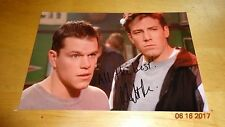 Matt Damon Signed Picture Autographed With Coa Good Will Hunting Ben Affleck