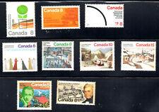 stamps CANADA A303 A313 A315 A319-A322(6) MINT LOT