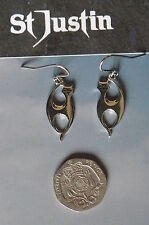 Pewter Celtic Jewellery Earrings without Stone