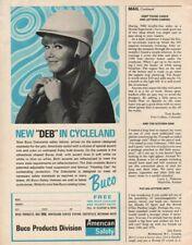 1968 Buco Debutante Safety Motorcycle Helmet - Vintage Ad