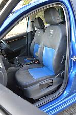 Skoda Octavia Combi (estate) Custom Tailored Leatherette Seat Covers with logos