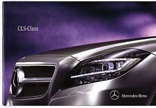 Mercedes-Benz CLS Coupe 2010-11 UK Market Launch Sales Brochure 250 350 CDi