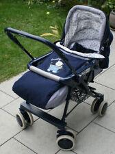 Praktischer Kinderwagen Baby Buggy Passeggino Magic von Chicco in dunkel blau