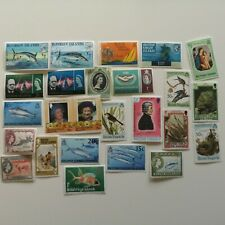 200 Different British Virgin Islands Stamp Collection