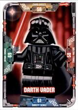 74-Darth Vader-Lego Star Wars tarjetas de colección serie 1