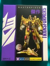 HASBRO EXCLUSIVE TRANSFORMERS MASTERPIECE SUNSTORM MP-05 - RARE - NEW