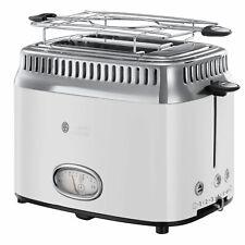 Russell Hobbs 21683-56 Retro Classic Blanc Toaster