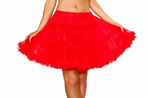 "Ruffled Petticoat Mesh Tulle Double Layered Underskirt Elastic Costume 15"" 1400"