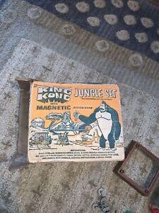 "1967 ""KING KONG"" Original Cartoon MULTIPLE TOYMAKERS MPC ""JUNGLE SET"" In The BOX"